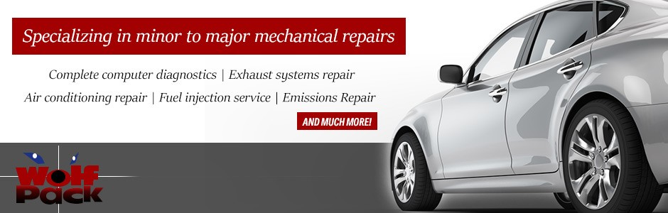 Specializing in minor to major mechanical repairs