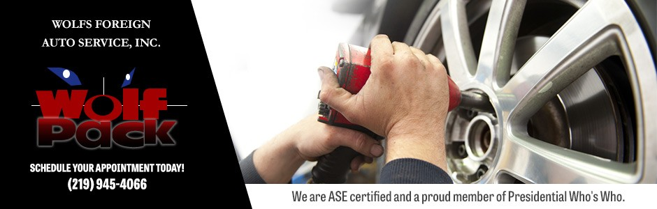 We are ASE certified and a proud member of Presidential Who's Who.